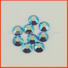 NO Defects! Super Shining Strong Glue 2012 new design hotfix motif rhinestone For Garment Accessory