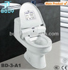 Novel plastic toilet seat cover with disposable hygienic film roll