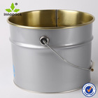 10L oval wholesale paint bucket pail with metal handle