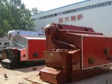 Double Drum Wood Pellet /coal fired 2ton 4 ton 6 ton steam Boiler