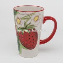 Ceramic Handpainted stoneware Coffee Mugs