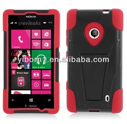 Custom Hybrid Hard Case Cover for Nokia Lumia 520