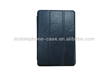 stand magnetic leather cover case for ipad mini tablet