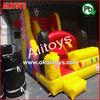 yellow cartoon inflatable slide character inflatable slides yellow inflatable slide