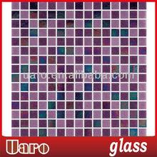 Boarder design mixture 20mm light purple tile mosaic