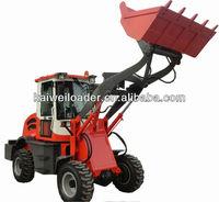 High quality forklift wheel loader ZL-15F Euro 3 articulated loaders