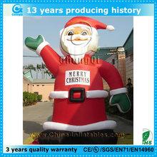 santa claus inflatable cartoon