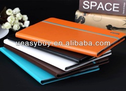 High quality Ultra slim For iPad air Case, Leather Case For iPad 5 iPad air smart cover