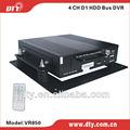 Rilevamento del movimento 4 canali hard disk dvr d1 h 264 manuale cctv unità, vr850