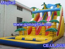 2013 best selling inflatable water slide