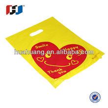 all kings of die cut plastic bag with gravure printing