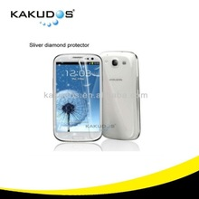 Wholesale Mobile Phone Diamond Screen Protector for Galaxy S3