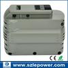 24v 2000mAh power tool Battery for dewalt DE0240