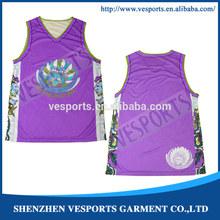 custom sublimation basketball uniform oem