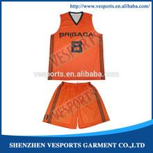 Customized basketball top 2014 new design