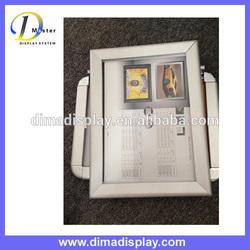 silver or black poster frame,snap frame,snap poster frame