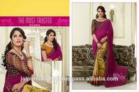 Indian women in sexy saree designer bollywood sari
