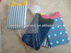 2014 smart wallet elastic lylon with printing logo