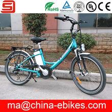 CKD SKD CBU electric city bike with lithium battery(JSE32S-20)