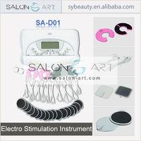 desktop portable electro stimulator for muscle stimulation
