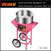 Electric cotton candy cart machine