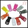 5/8 curved Double slot side release plastic buckle for dog collars