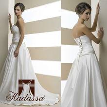 French designe Ball Gown Wedding Dress / Gown Drapery