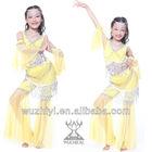 Latest Belly Dance Kids Costumes,Lovely Popular Belly Dance Wear,Belly Dance Stage Performance Dress for Children(QC2123)