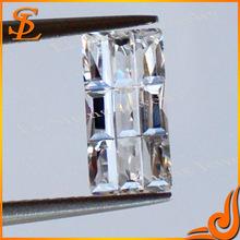 sparkling cubic zirconia gems