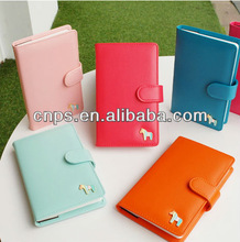 leather cover MINI fashional cute pocket notebook for writting a Love Journal