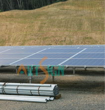 galvanized ground screw, ground screw anchor, ground solar mounting system