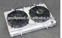 Auto radiator fan shroud kits for SUBARU STI 2008