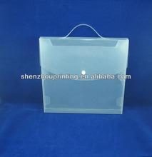 Hot selling box file PP transparent Folio (factory price)