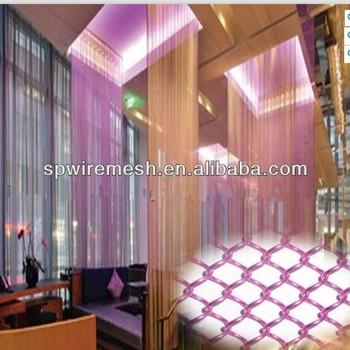 2013 Hot Selling Decorative Metal Mesh Fabric Drapery