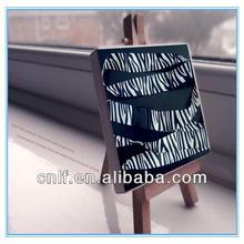 Zebra Stripe lanyard, a Sense of Black and White Mystery