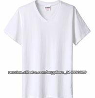 wholesale blank t-shirt bulk Cheap Hemp/CottonWholesale T- Shirts export clothing