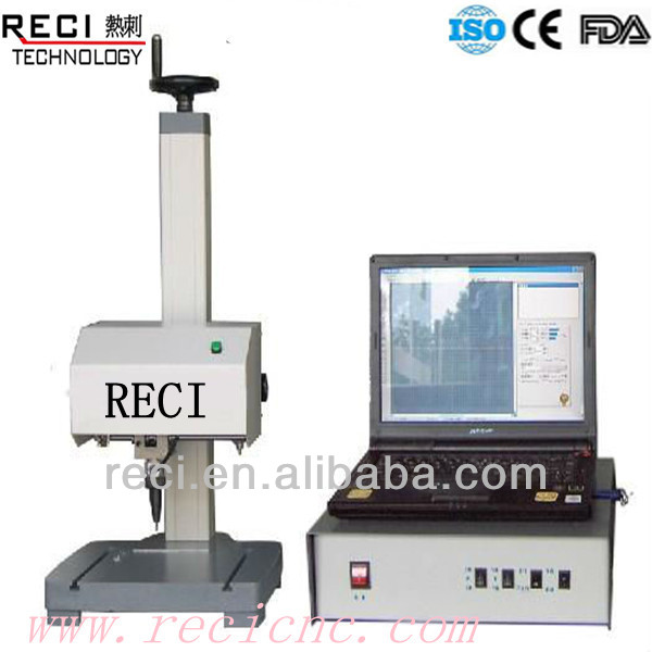 desktop intelligent pneumatic dot peen marking machine