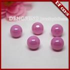 Synthetic Cabochon Cut Zirconia Gemstone Sphere