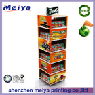 Tang Moving Cardboard Display Stand for Fruit Juice,Cardboard Juice Display Stand World Cup Promotion