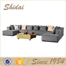 modern large corner sofa / modern sofa corner / big corner sofa with ottoman G1103