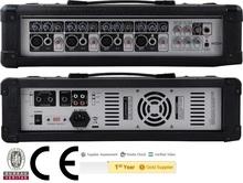 DJ mixer,CE Certified HY-204 120W Professional Public Address Power Mixer,4-Channels