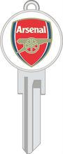 Arsenal House Key Soccer Key