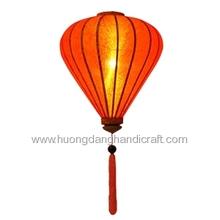 Bamboo silk lantern lamp handmade from Vietnam, high quality