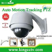 Hyking auto-tracking 480TVL ptz dome camera pan/tilt/zoom Camera:HK-SAP8182