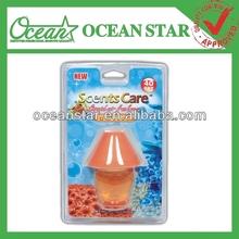 40ml Lamp shape poppy liquid car air freshener