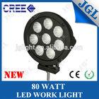 best quality fog light,cree 80w led auto work light, 4x4 accessories offroad driving headlight