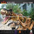 Die realistische 4m t-rex dinosaurier