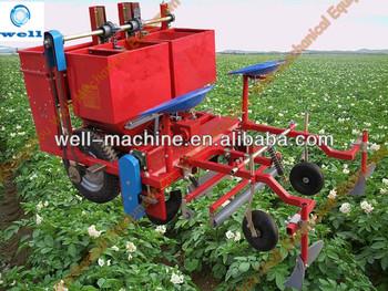 Hot sale efficient 2 rows potato planter +0086 18838017833