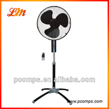 2014 Latest 16 inch Electric Stand Fan with New Cross Leg Base