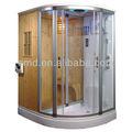 Luxus traditionellen dampf sauna mit Dusche